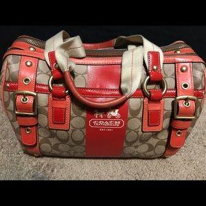 Coach purse & matching wallet